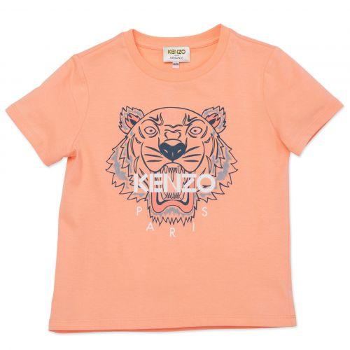 Orange Tiger Girl T-Shirt
