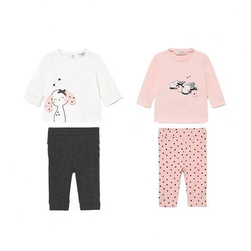 Baby Pink Long Knit Set