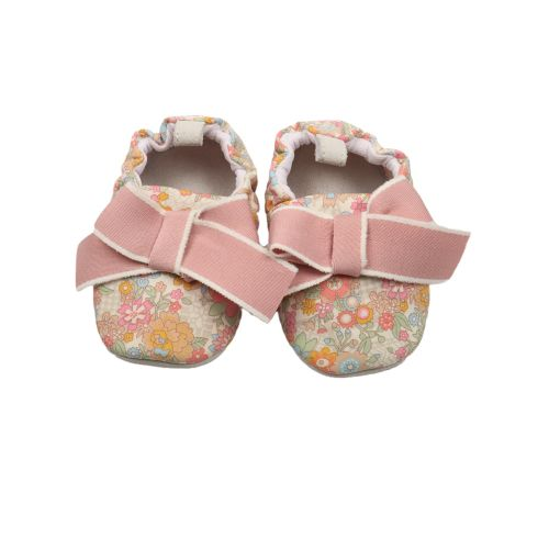 Floral Foliage Baby Shoes
