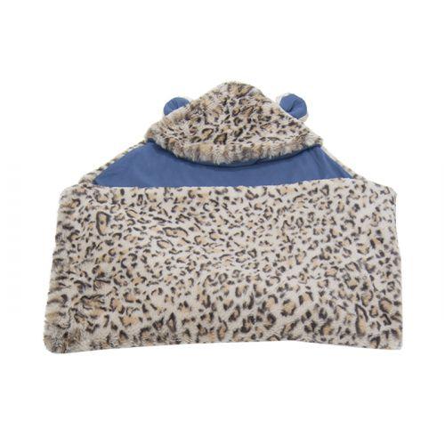 Latte Leopard Blanket