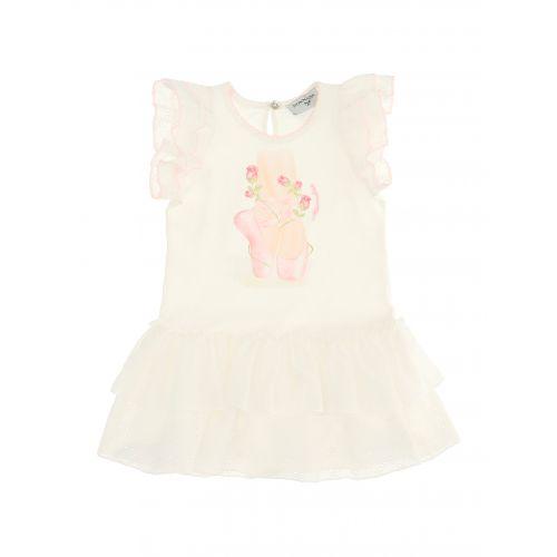 White Ballerina Baby Dress