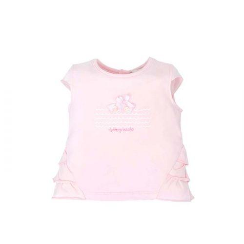 Soft Pink Ruffled Top