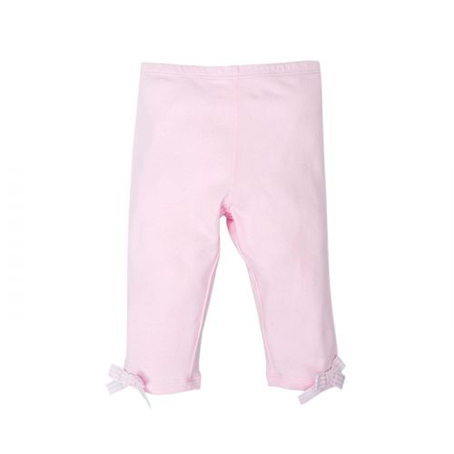 Soft Pink with Striped Bow Trousers