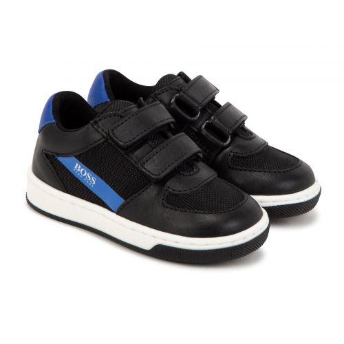 Black Side Logo Shoes