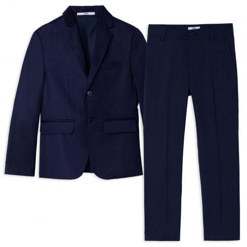 Navy Suit Set