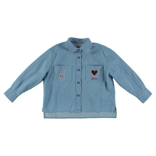 Alyson Cotton Chambray Shirt