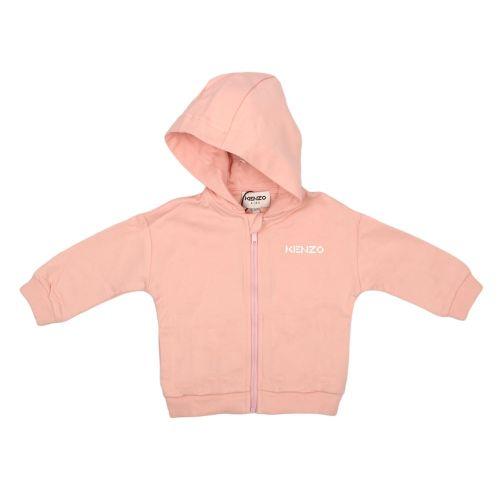 Pink Logo Baby Jacket
