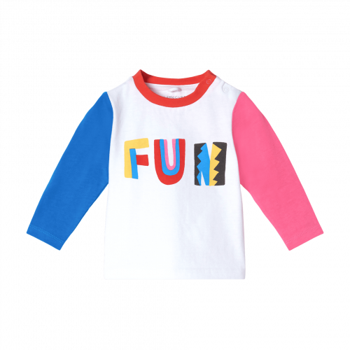 Color Block Fun Long Sleeve T-Shirt