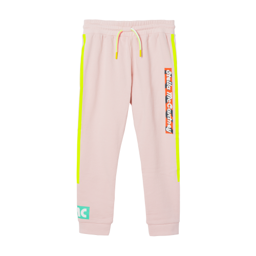 Pink Side Logo Joggers