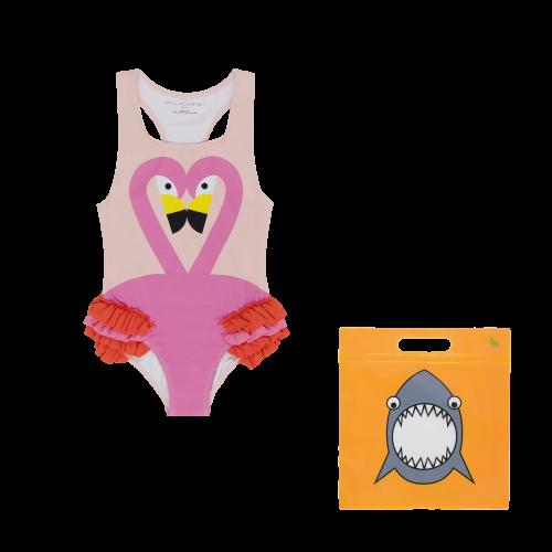 Pink Flamingo Swimsuit