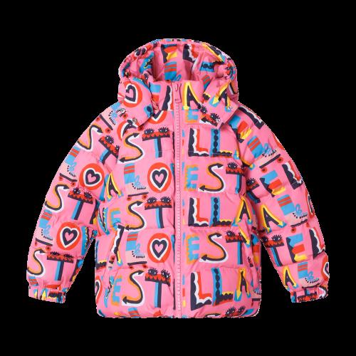 Pink Stella Love Puffer Jacket