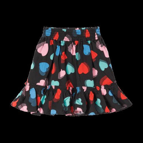 Black Hearts Skirt