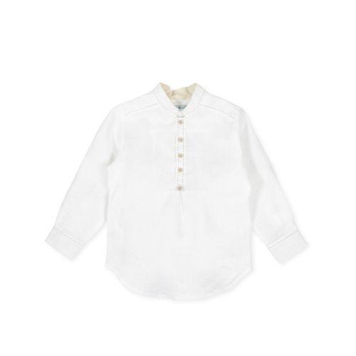White Plain Button Down Shirt
