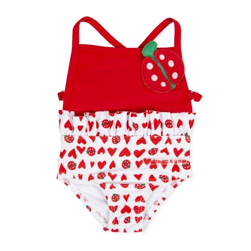Red Ladybug Swimsuit