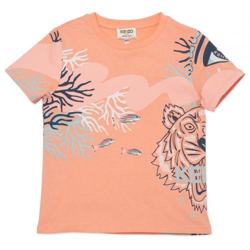 Orange Multi-Iconic Girl T-Shirt