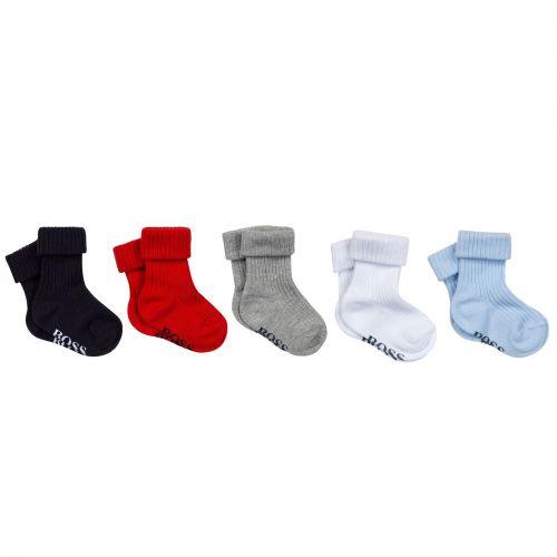 Multicolor Socks Cotton Set