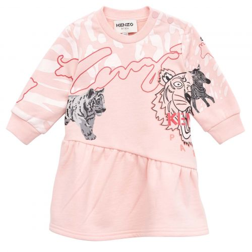 Pink Multi-Iconic Baby Dress