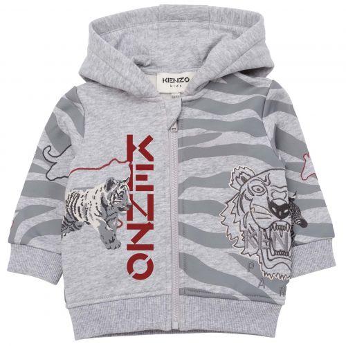 Grey Multi-Iconic Baby Jacket