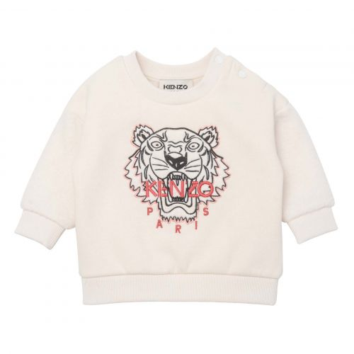 Ivory Tiger Baby Sweater