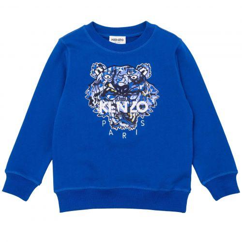 Blue Tiger Camo Sweater