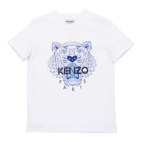 White Kenzo Cotton T-Shirt