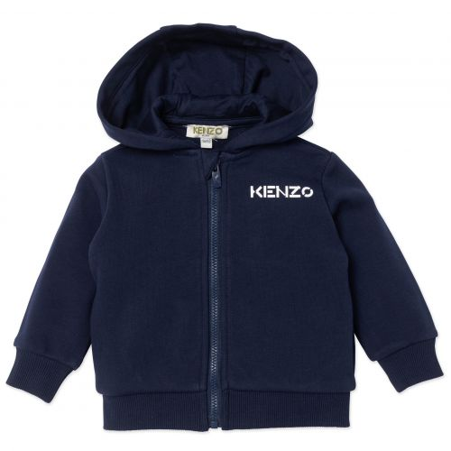 Navy Logo Baby Jacket