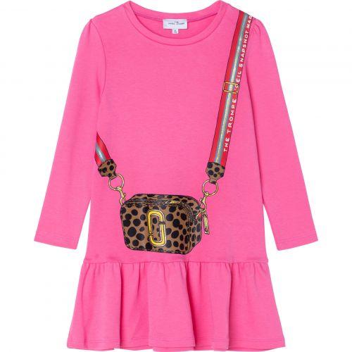 Pink Snapshot Dress