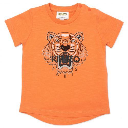 Orange Tiger Boy Baby T-Shirt