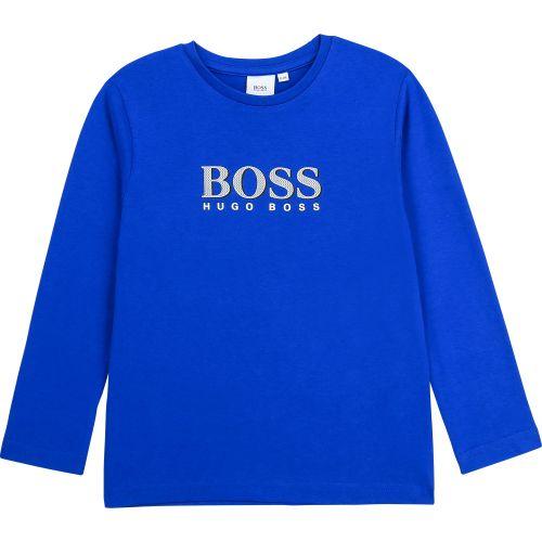 Electric Blue Classic Long Sleeve T-Shirt