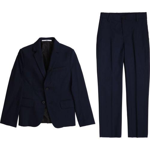 Navy Formal Suit Set