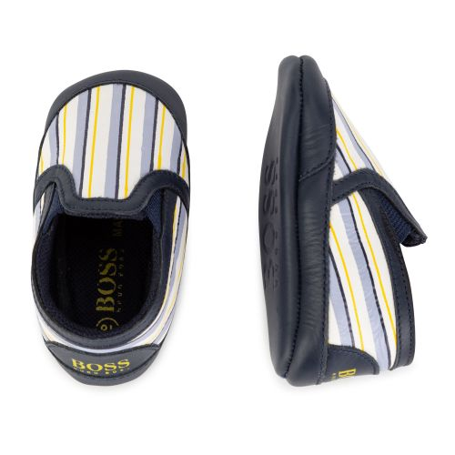 Colorful Stripe Baby Shoes