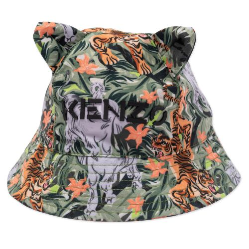 Green Jungle Bucket Hat
