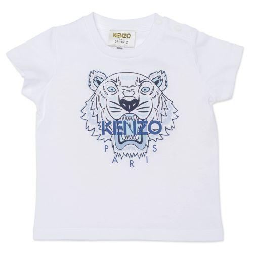 White Tiger Boy T-Shirt