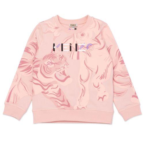 Baby Pink Multi-Iconic Sweeatshirt