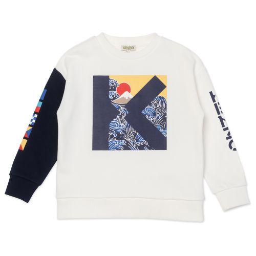White Sailor Multi - Iconics Sweatshirt