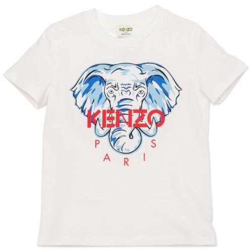 White Sailor Elephant T-Shirt