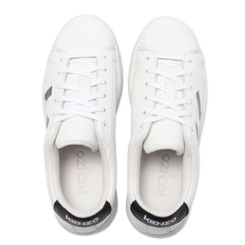 White Logo Sneakers (28 -29)