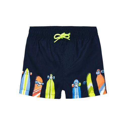 Navy Skate Swimming Shorts