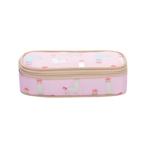 Light Pink Alpaca Pencil Box