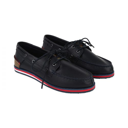 Black Leather Moccasin (36-40)