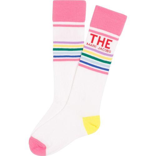 Multi-Color Logo Socks