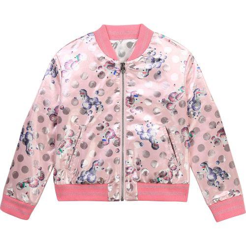 Pink Poodle Reversible Bomber Jacket