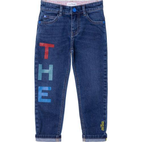 Denim Logo Jeans