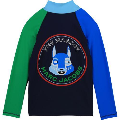Multi-Color Marc Mascot Swim Top