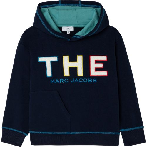 Navy Boy Logo Hoodie Sweater