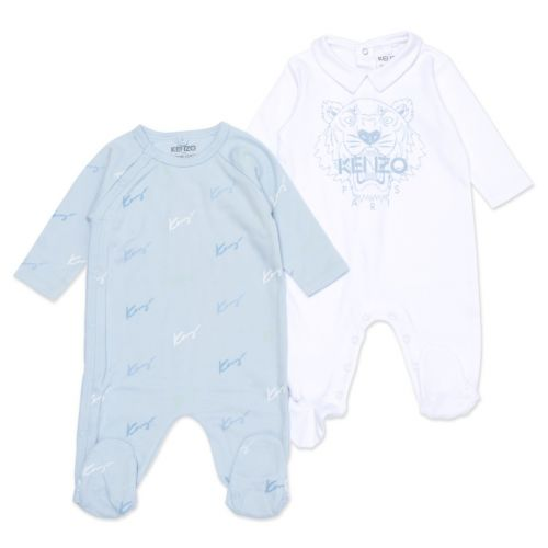 Baby Blue Babysuit Set