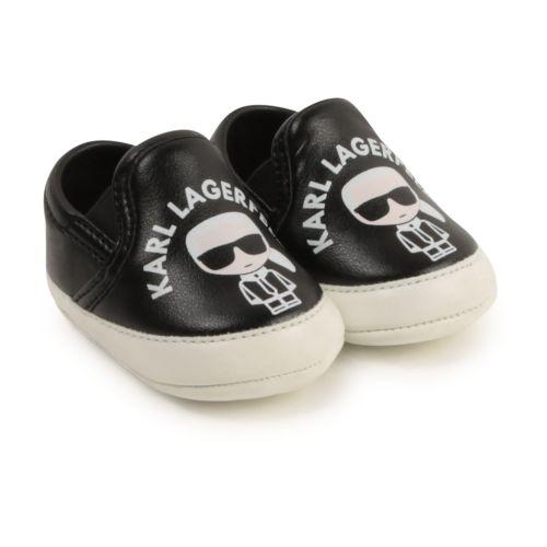 Black Karl Baby Shoes